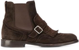Henderson Baracco buckle detail boots