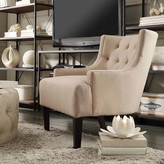 Three Posts Barwood Tufted Accent Arm Chair
