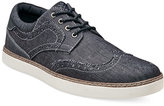 Stacy Adams Tru Casual Chambray Wing-Tip Shoes