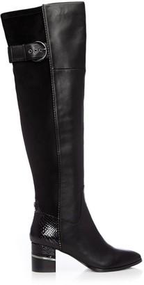 Moda In Pelle Violette Black Leather