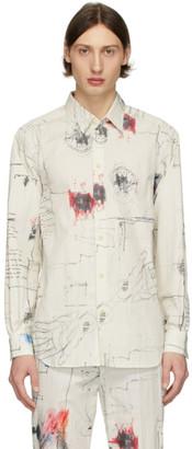 Isabel Benenato Off-White Basic Shirt