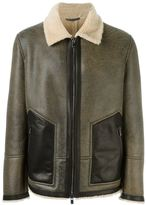 Drome shearling jacket - men - Calf Leather/Sheep Skin/Shearling/Lamb Fur - L