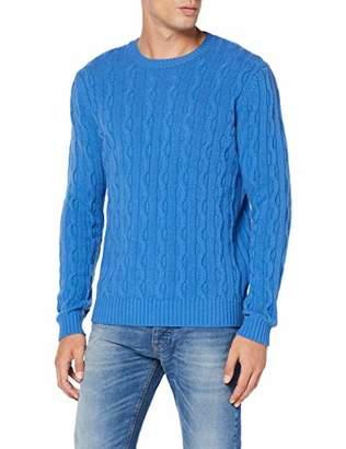 Benetton Men's Basico 2 Man Long Sleeve Top,X-Large