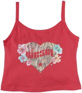 Diesel Tank W Floral Heart (Kid) - Raspberry-8
