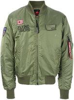 Alpha Industries tiger bomber jacket