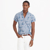 J.Crew Short-sleeve shirt in sailboat print