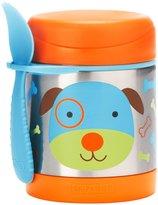 Skip Hop Zoo Stainless Food Jar - Dog - 11 oz