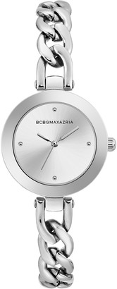 BCBGMAXAZRIA Women's Quartz Analog Dress Bracelet Watch, 30.5mm