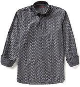 Visconti Long-Sleeve Square Woven Shirt