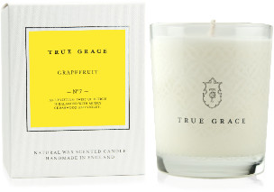 True Grace - Grapefruit Village Classic Candle - Handmade in England | 40 hours burn time