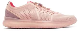 adidas by Stella McCartney Pureboost Mesh Trainers - Womens - Light Pink