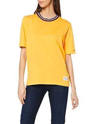 Tommy Hilfiger Women's Tira C-NK TEE SS T-Shirt,Large