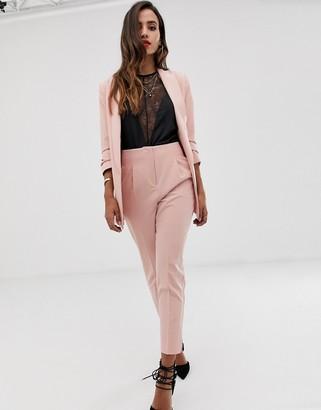 Asos DESIGN mix & match high waist cigarette pants