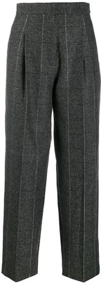 Sandro Paris high-waist tailored trousers