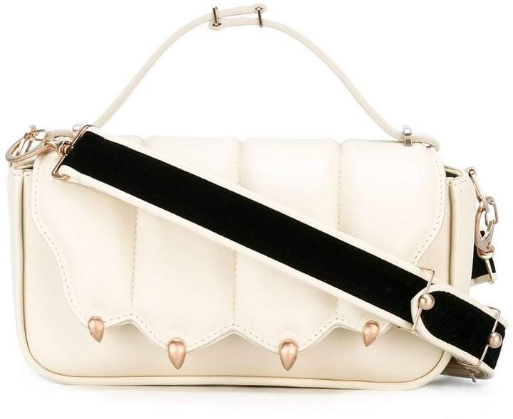 Marco De Vincenzo velvet strap cross body bag