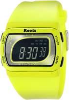 Roots Women's 1R-AT401LI1L Tofino Digital Display Quartz Green Watch