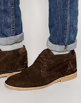 Selected Homme Royce Suede Desert Boots