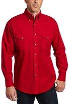 Wrangler Men's Big & Tall Painted Desert Basic Work Western Shirt
