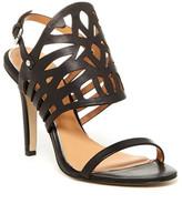 Badgley Mischka Murray Laser- Cut Heel Sandal