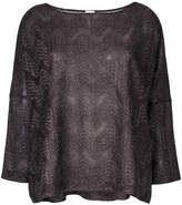 M Missoni wide neck flared top