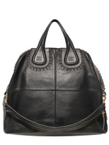 Givenchy Large Nightingale Studded Nappa Bag
