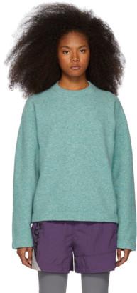Alexander Wang Blue Teepee Sweater