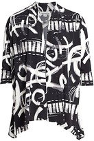 Thumbnail for your product : Caroline Rose, Plus Size Escapade Printed Cardigan