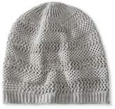 Mossimo Women's Knit Beanie Hat - Gray