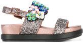 Ash Sharon sandals - women - Leather/PVC/rubber - 39