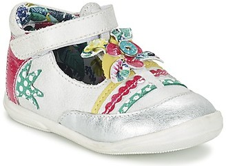 Catimini PANTHERE girls's Shoes (Pumps / Ballerinas) in White