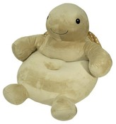 Cloud b Turtle Plush Chair - Tan
