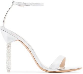 Sophia Webster Haley 100mm crystal heel sandals