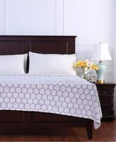 Berkshire Tipped Honeycomb Plush King Blanket Bedding