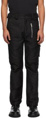 ADYAR SSENSE Exclusive Black Utility Cargo Pants