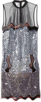 Alexa sequined tulle dress