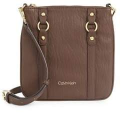 Calvin Klein Sonoma Faux Leather Crossbody Bag