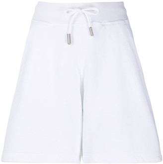 DSQUARED2 A-line jersey knit shorts