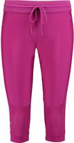 adidas by Stella McCartney Studio 3/4 stretch and mesh leggings