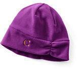 Classic Women's 100 Fleece Hat-Ivory/Black Fairisle