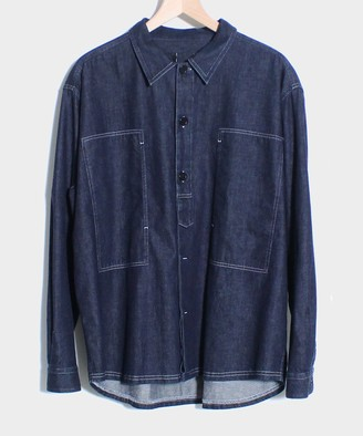 Le Mont St Michel Cid Denim Work Overshirt