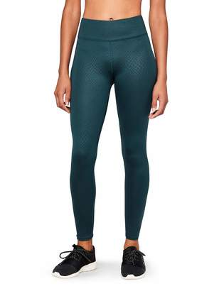 AURIQUE GTQ3_05 Sports Tights Blue Teal) 14 (size: Large)