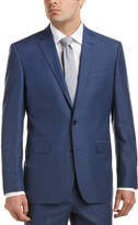 Kenneth Cole New York Wool- And Linen-Blend Suit With Flat Front Pant