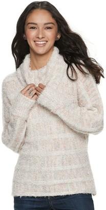 American Rag Juniors' Striped Turtleneck Sweater