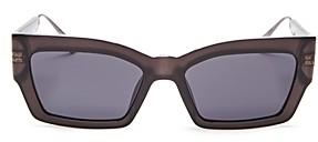 Christian Dior Women's CatStyleDior2 Square Sunglasses, 54mm