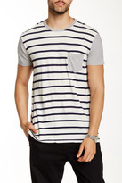 Sol Angeles Duo Striped Pocket Tee
