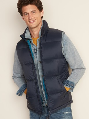 Old Navy Frost-Free Quilted Puffer Vest for Men