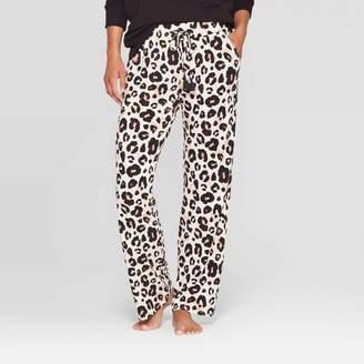 Stars Above Women's Leopard Print Beautifully Soft Pajama Pants - Stars Above Oatmeal