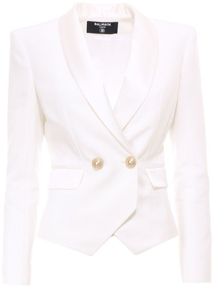 Balmain Double-Breasted Tailored Blazer