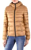 Refrigiwear Women's Gold Polyamide Down Jacket.