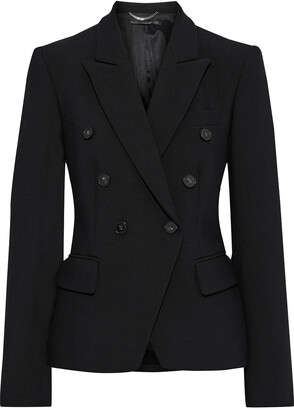 Stella McCartney Robin Double-breasted Woven Blazer